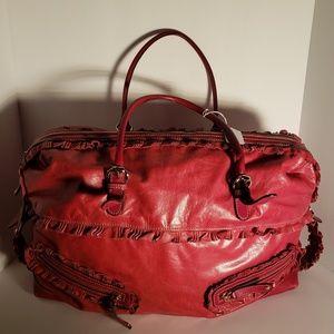 Gucci Red Sabrina Large Boston Bag 1 HOUR SALE$$$